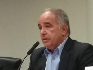 Presidente da ANA, Vicente Andreu, criticou a Sabesp (Foto: Tatiana Santiago/G1)