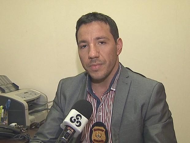 Delegado Alcino Loureiro Júnior (Foto: Reprodução/Rede Amazônica Acre)