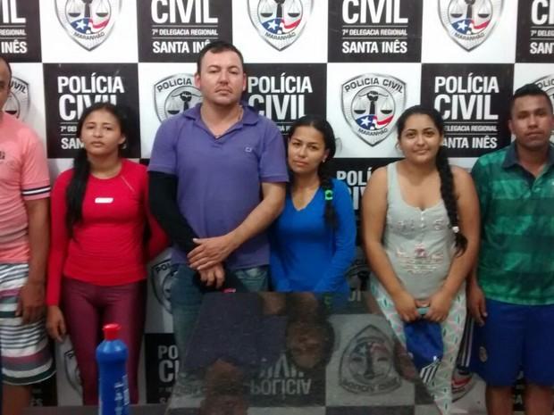 Colombianos são presos em Santa Inês (Foto: Divulgação/SSP-MA)