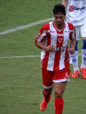Marcos Martins, lateral do CRB (Foto: Leonardo Freire/GloboEsporte.com)