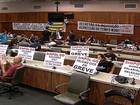 Em greve há 70 dias, policiais civis mantêm ocupação à Assembleia