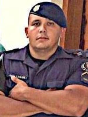 GCM Marcos Roberto Carlos (Foto: Arquivo pessoal / Marcos Carlos)