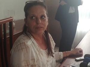 A médica cubana Ramona Matos Rodriguez, em entrevista em Brasília (Foto: Nathalia Passarinho/G1)