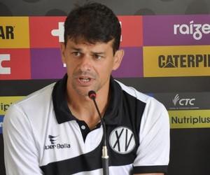 Ronaldo Guiaro Treinador XV de Piracicaba Nhô Quim (Foto: Evandro Pelligrinotti / XV de Piracicaba)