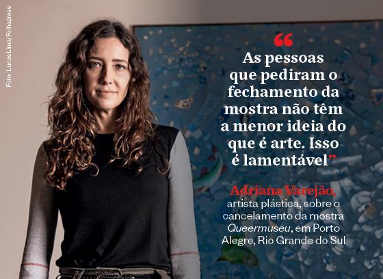 Frases que resumem a semana | Adriana Varejão (Foto: Lucas Lima/Folhapress)