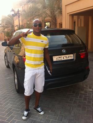 Domingos Doha Catar Zagueiro (Foto: Divulgação / Al Khuraitiat)