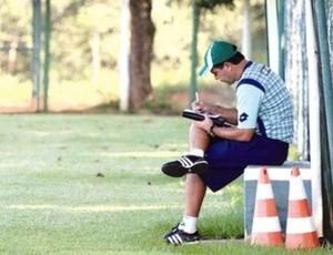 Enderson Moreira, técnico do Goiás (Foto: Zuhair Mohamad / O Popular)