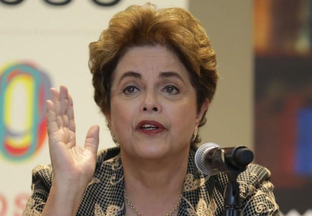 A ex-presidente Dilma Rousseff participa de evento no México (Foto: Miguel Tovar/LatinContent/Getty Images)