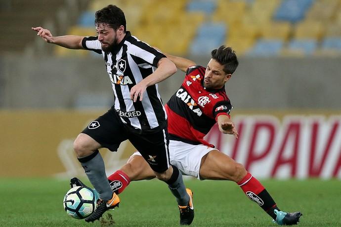 João Paulo e Diego Flamengo x Botafogo (Foto: Vitor Silva/SSPress/Botafogo)