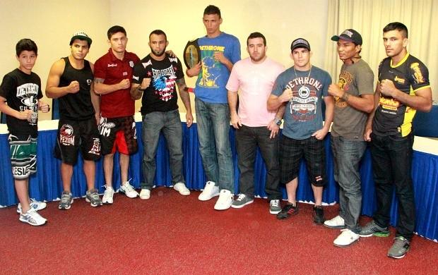 Mr. Cage 7, lutadores (Foto: Frank Cunha/Globoesporte.com)