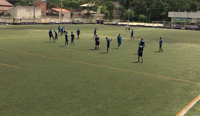 Avaí treino (Foto: Janniter Decordes/CBN Diário)