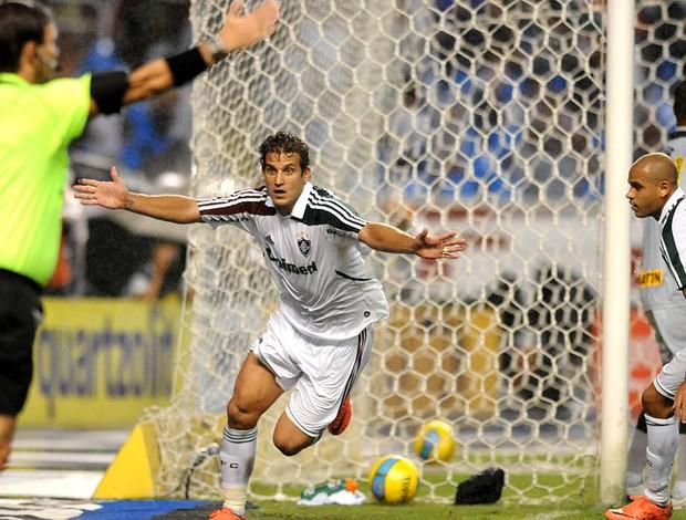 Rafael Moura, Botafogo x Fluminense (Foto: André Durão / Globoesporte.com)