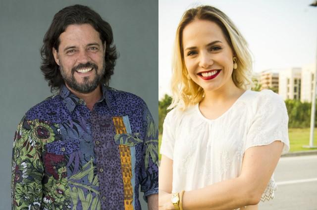 Felipe Camargo e Letícia Colin (Foto: TV Globo)