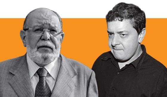 Léo Pinheiro e Lulinha (Foto: Rafael Arbex/Estadão Conteúdo e Alex Silva/Estadão Conteúdo)