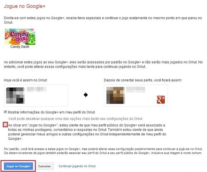 Como continuar jogando os games do Orkut no Google+ ...