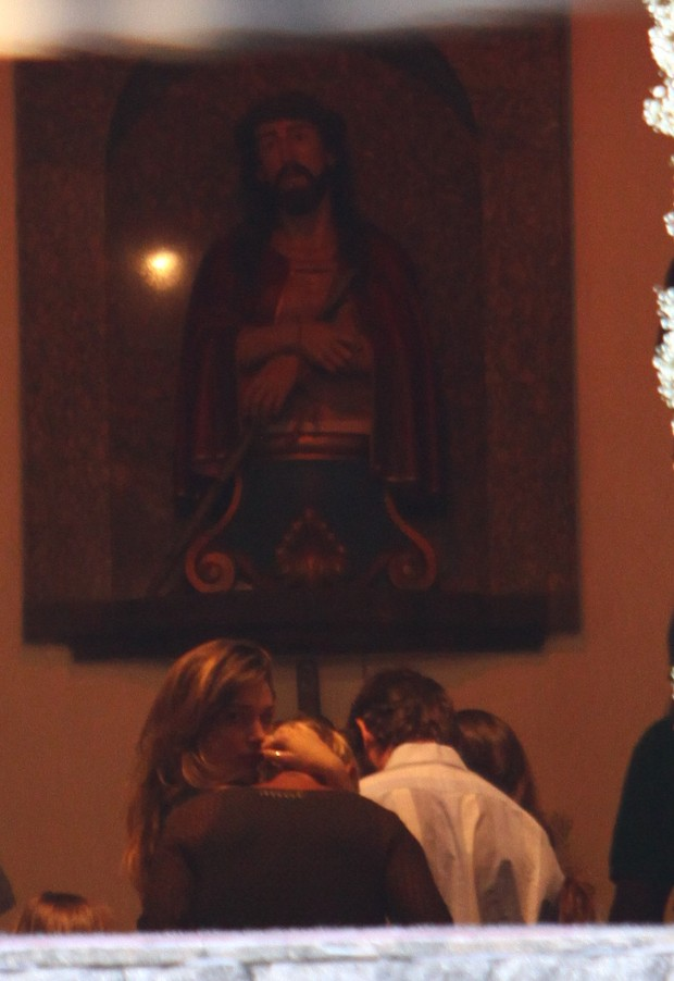 Missa de 7º dia do irmão da Xuxa (Foto: Wagner Santos da Silva/ EGO)