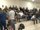 Guardas municipais protestam e CMB aprova projeto sobre gratificações