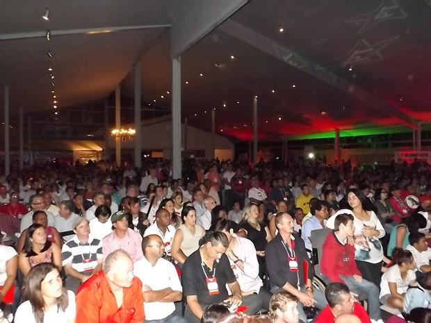 Encontro do PT reuniu em Bauru cerca de 500 lideranças do partido no interior de São Paulo (Foto: Alan Schneider/G1)