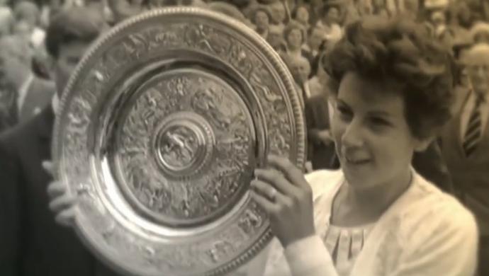 Maria Esther Bueno venceu 19 Grand Slams (Foto: Reprodução SporTV)