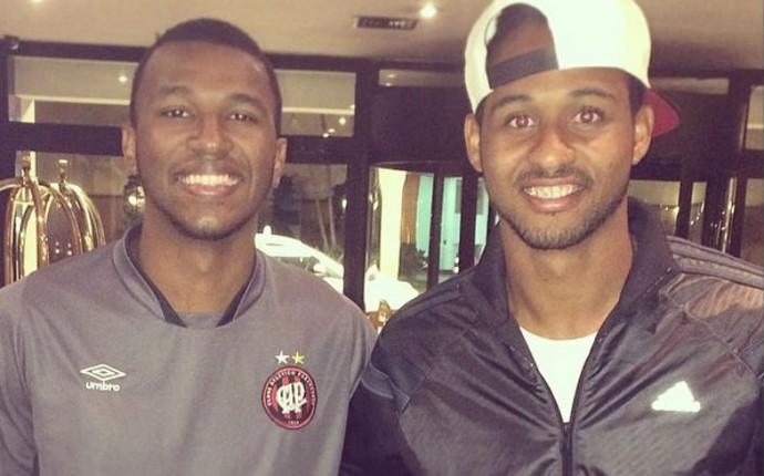 Douglas Coutinho e Pedro Paulo (Foto: Reprodução/ Instagram)