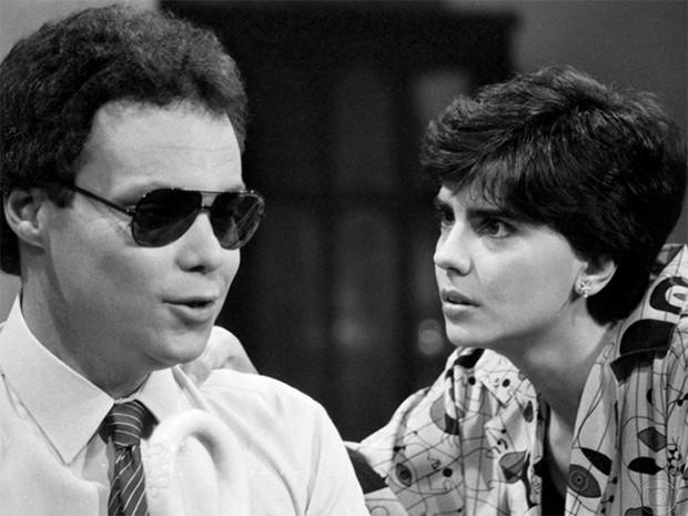 Z Mrio e Babi (lcio Romar e Mayara Magri) (Foto: Acervo Globo)