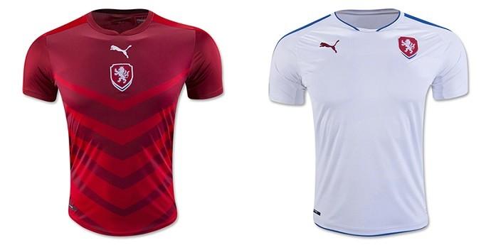 Camisas Eurocopa republica tcheca