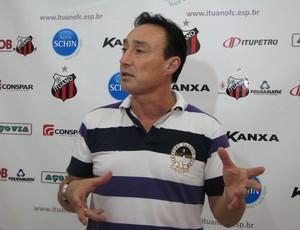 Roberto Fonseca - técnico do Ituano (Foto: Rafaela Gonçalves / GLOBOESPORTE.COM)