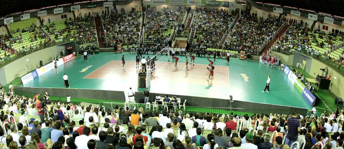 Volei - Copa Brasil de Voleibol - Sesi x Cruzeiro - Ginásio Chico Neto (Foto: Ivan Amorin)