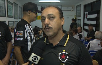 Eleito, Zezinho quer dar continuidade a projeto realizado no Botafogo-PB
