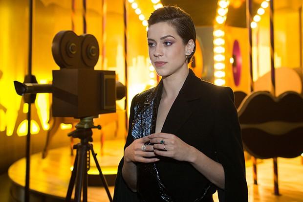 Sophia Abraho no SPFW N42 (Foto: Andr Bittencourt)
