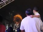 Em Belém, ano novo chegou com show pirotécnico ao longo da orla