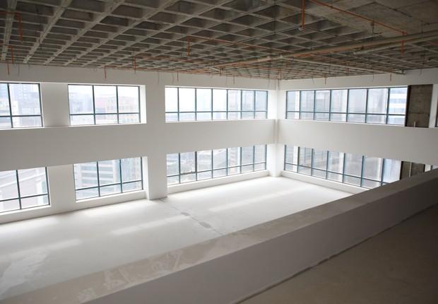 Nova sede do Cubo em São Paulo a partir de 2018. Prédio está em construção ainda, mas expectativa é receber mais de 2 mil pessoas por dia (Foto: SM2 - SOLANGE MACEDO)