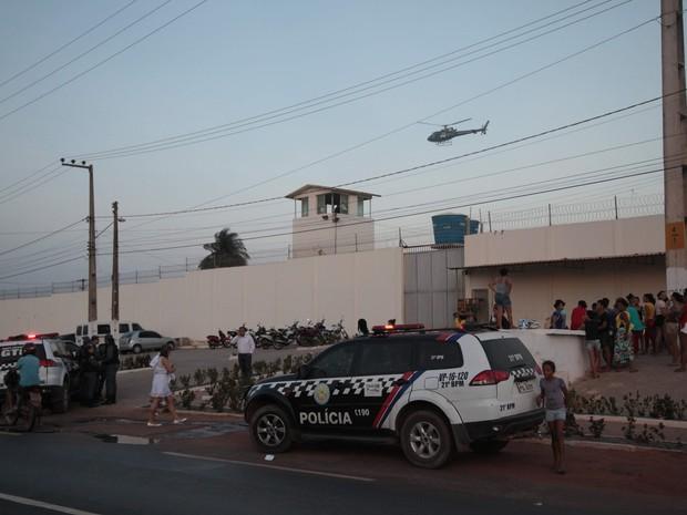 Rebelião na Unidade Prisional de Ressocialização em Pedrinhas (Foto: Flora Dolores/O Estado)