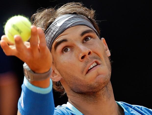 Novak Djokovic x Nadal tênis Roma (Foto: AP)