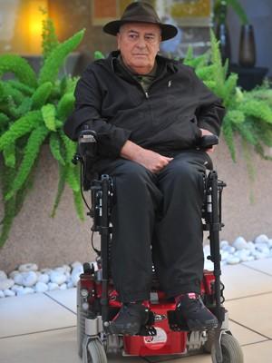 O cineasta Bernardo Bertolucci (Foto: AFP/Tiziana Fabi)