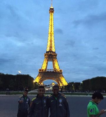 jorge e marlon em paris (Foto: Divulgação)