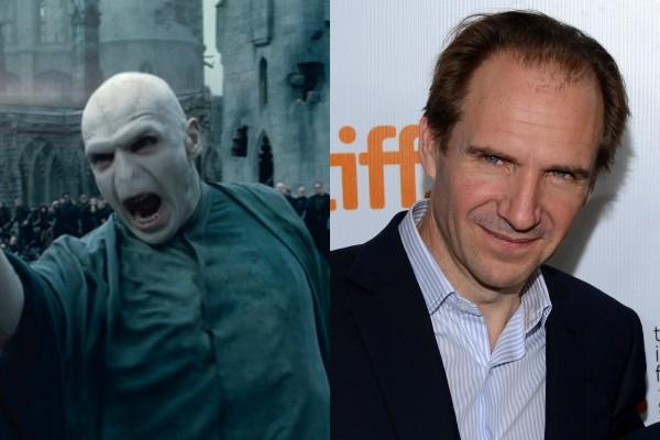 Ralph Fiennes como Lord Voldemort (Foto: Divulgação/Getty Images)