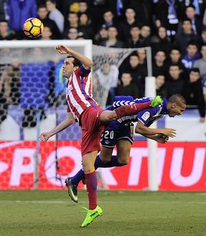 Godín Deyverson Atlético Madrid Alavés (Foto: Ander Gillenea / AFP)