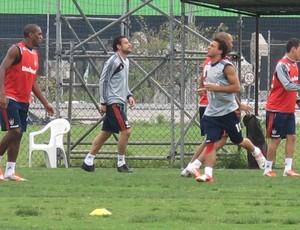 Fred no treino do Fluminense   (Foto: Rafael Cavalieri/Globoesporte.com)