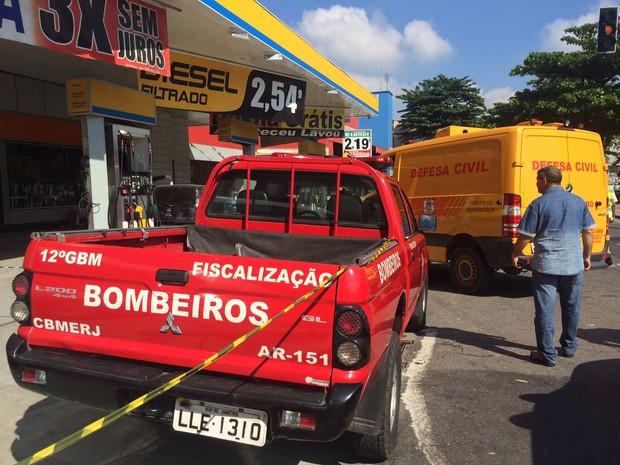 DH realiza perícia no local (Foto: Matheus Rodrigues / G1)
