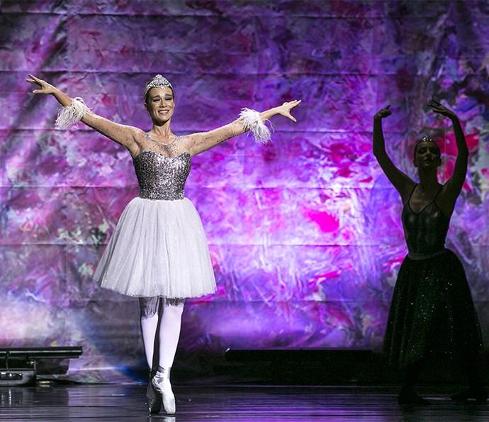 Tancinha flutua pelo palco (Foto: Isabella Pinheiro/Gshow)