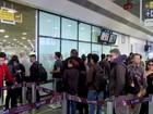 Novas regras de segurança causam filas no maior aeroporto de MT