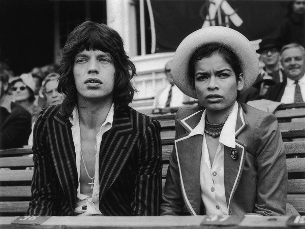 Mick e Bianca Jagger (Foto: gettyimages)