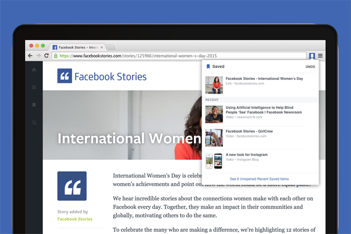 Extensões do Facebook no Chrome dão acesso fácil a funcionalidades da plataforma (Foto: Reprodução/Chrome Web Store)