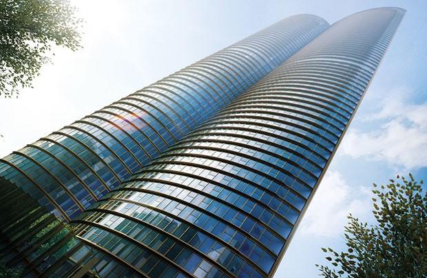 Maior arranha-céu da Europa Ocidental terá unidades de até R$ 13 bilhões (Foto: Divulgação)