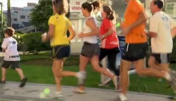 Vem correr no PRTV (Foto: Reprodução/ RPC TV)