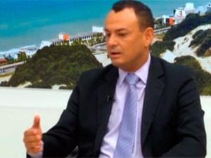 Clidenor Cosme da Silva Júnior foi exonerado (Foto: Reprodução/Inter TV Cabugi)