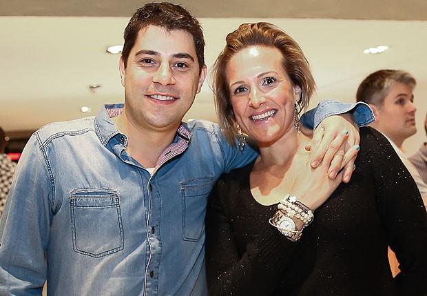 Evaristo Costa e Amália Stringhini (Foto: Manuela Scarpa/Brazil News)
