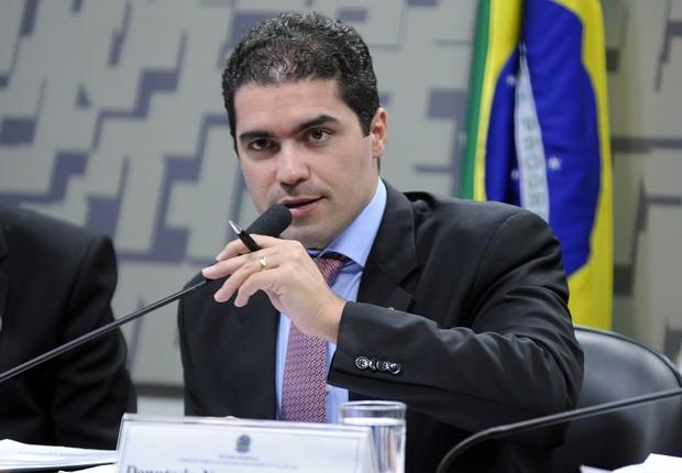 O deputado federal Newton Cardoso Junior (PMDB-MG), relator do projeto de venda de terras brasileiras a investidores estrangeiros (Foto: Alex Ferreira/Câmara dos Deputados)
