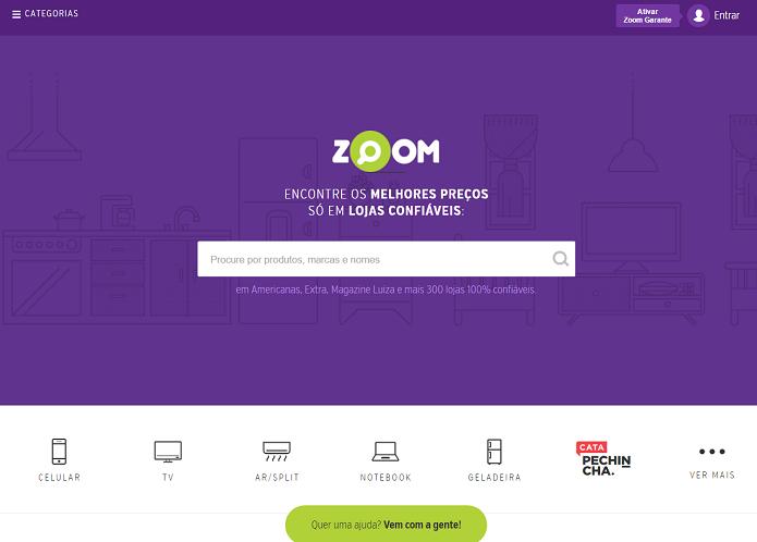 Zoom tem dicas e opiniões sobre produtos (Foto: Reprodução/Aline Jesus)